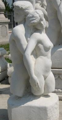 GIARDINO Statue Amore e psiche BM169
