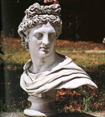 GIARDINO Busti Apollo del belvedere BM205
