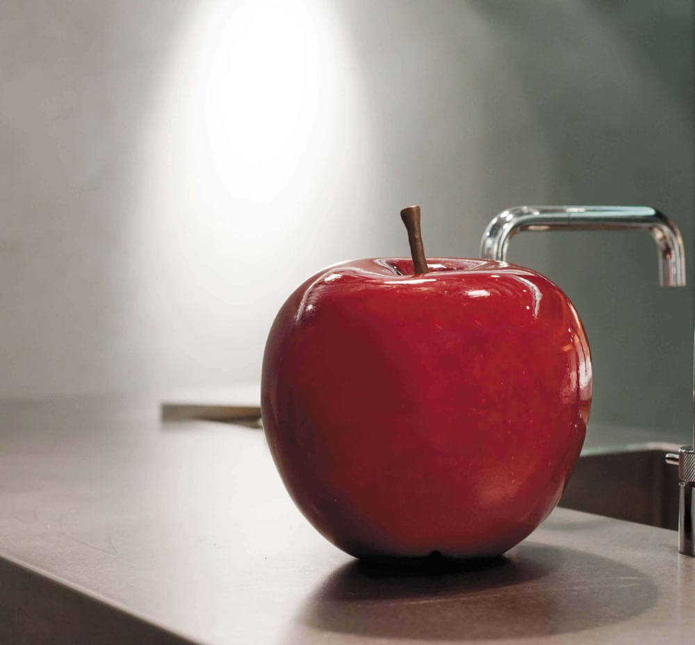 OGGETTISTICA Fiberclay Apple Red S AR514087