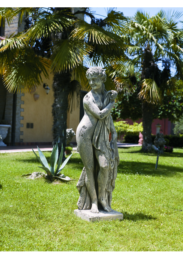 GIARDINO Statue Bagnante corrosa 142262