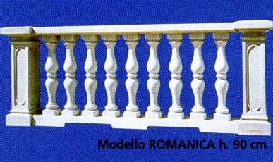 BALAUSTRE Cemento Balaustra Romanica BM371
