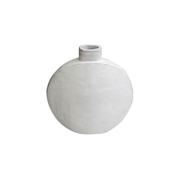 OGGETTISTICA Terracotta smaltata New Age Bottiglia bianca 214937