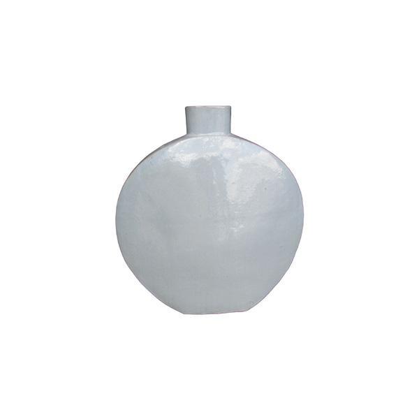 OGGETTISTICA Terracotta smaltata New Age Bottiglia grigia 214943