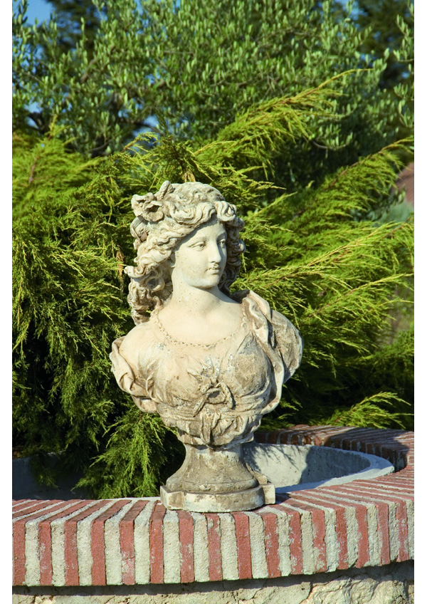 GIARDINO Statue Busto donna 141633