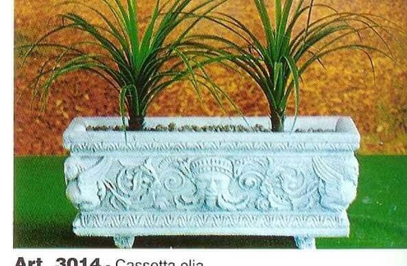 VASI Cemento con decori Cassetta Elia VA179