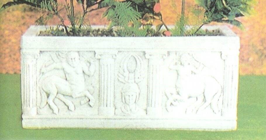 Vaso fioriera divisorio VASI Cemento Cassetta Gavassa VA180