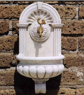 FONTANE Lavelli a muro Collevecchio BM195