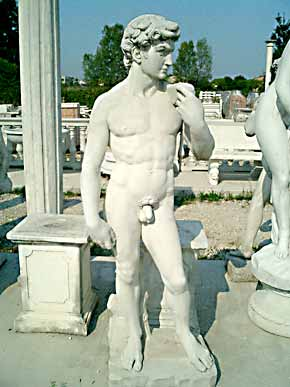 GIARDINO Statue David BM13