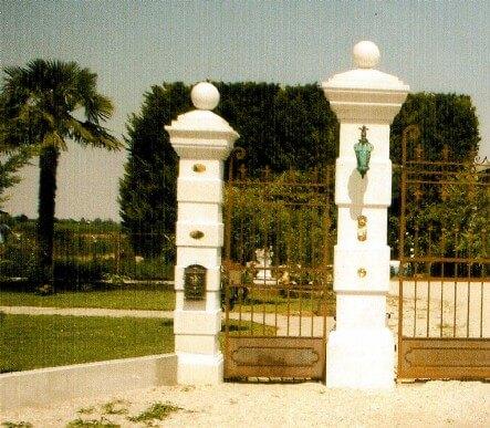 COLONNE Pilastri - cancello Domus BM393