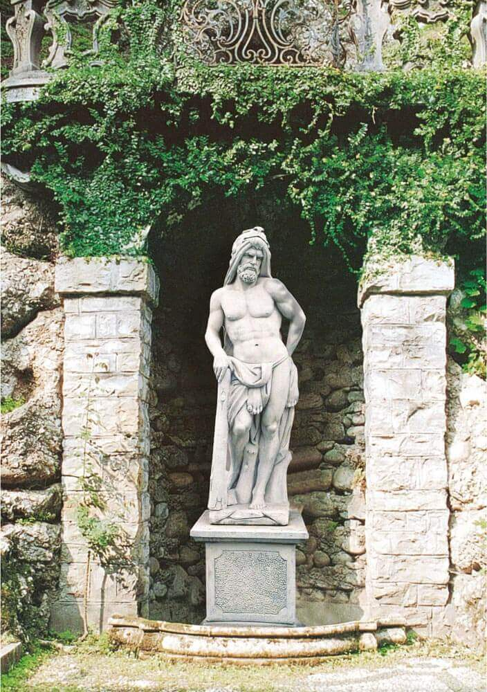 GIARDINO Statue Ercole ST479
