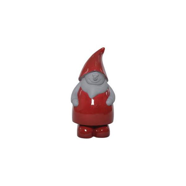 OGGETTISTICA Cemento alleggerito Gnomo rosso 524995