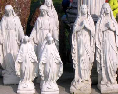 GIARDINO Statue Immacolata lourdes BM139
