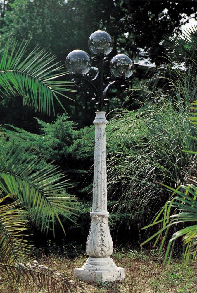 GIARDINO Varie Lampione medio 3 globi AR12189