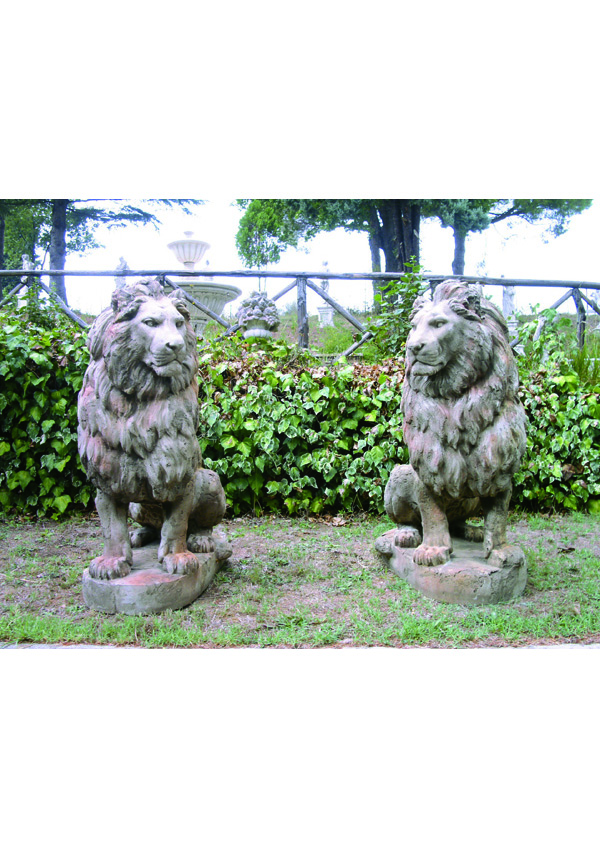 GIARDINO Animali Leone gigante 14211
