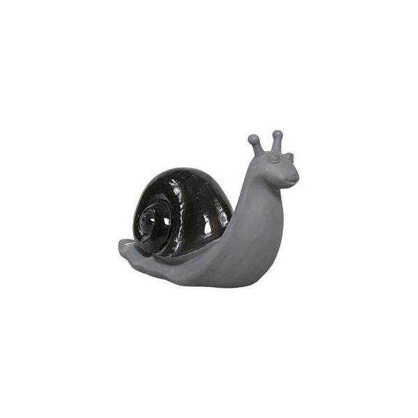OGGETTISTICA Cemento alleggerito Lumaca nera 524999