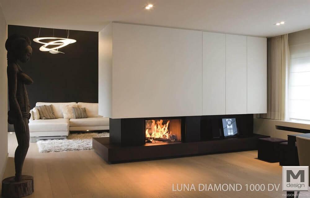 RISCALDAMENTO Camini Luna 1000dv diamond