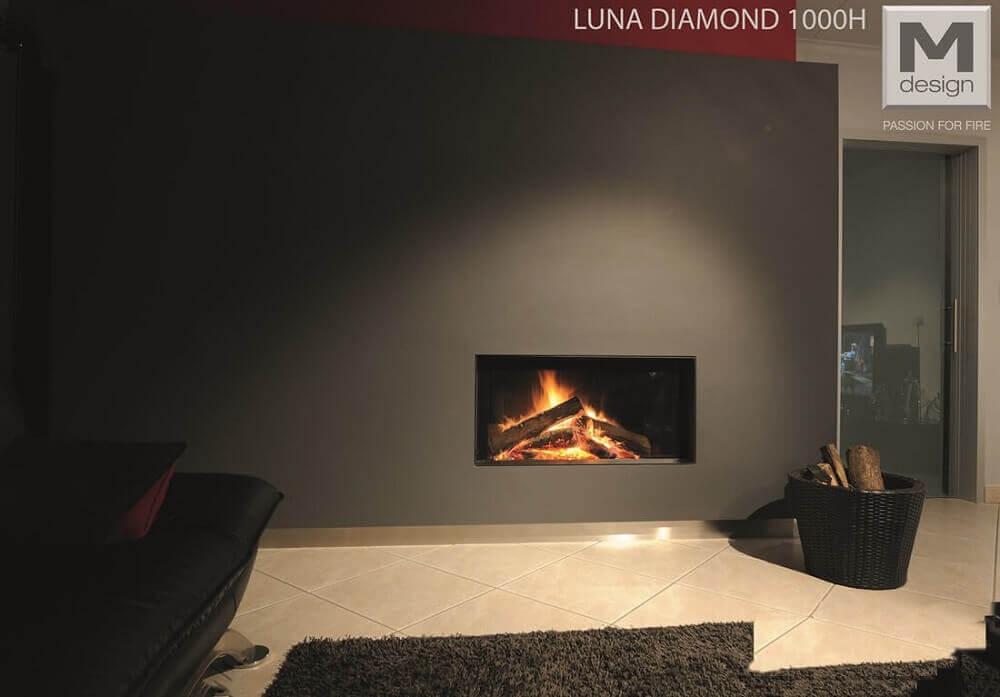 RISCALDAMENTO Camini Luna 1000h diamond