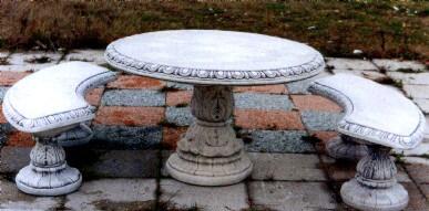 GIARDINO Tavoli Monte nero BM388