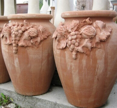 Vasi terracotta portaombrelli frutta dima95 terracotta for Vasi in terracotta on line