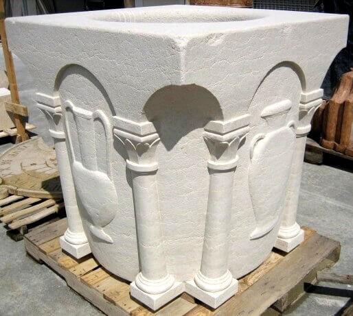 FONTANE POZZI Pozzo colonne
