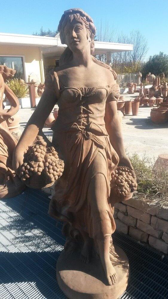 GIARDINO Statue Statua Autunno TARST507036