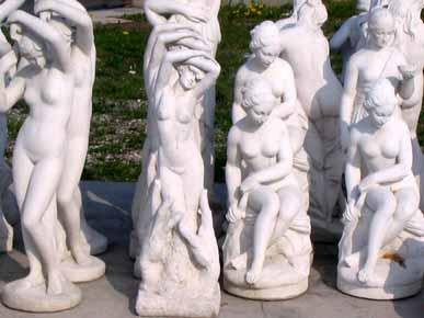 GIARDINO Statue Statue h80 BM140