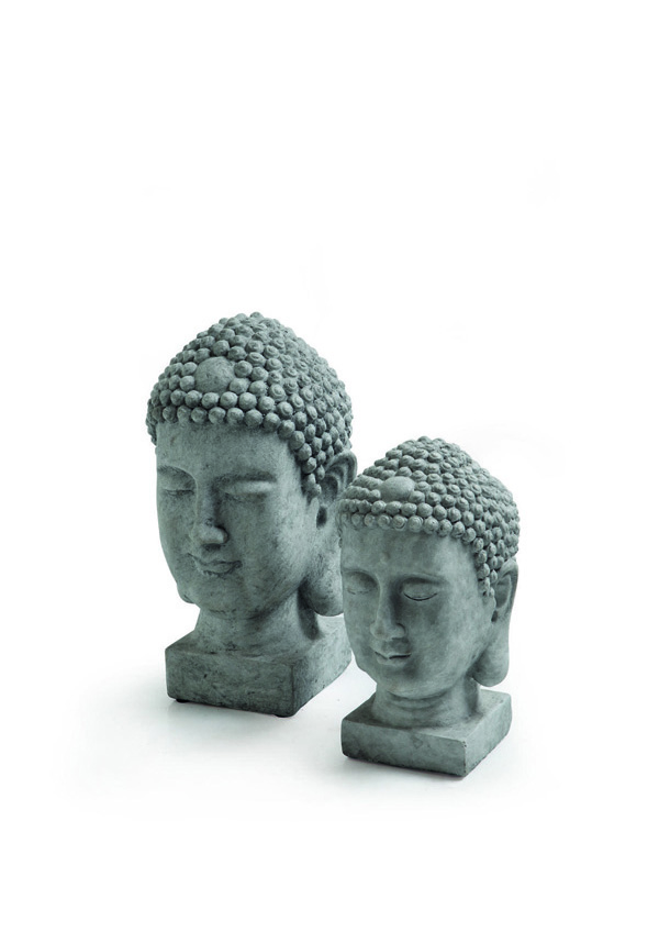 GIARDINO Statue Testa Buddha 524254