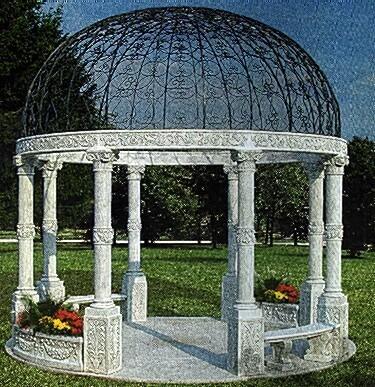 COLONNE Chioschi Villa reale BM377