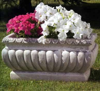 vaso cemento portafiori