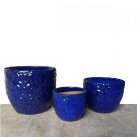Vasi VASI Anzio blu set 3 pz. 215228