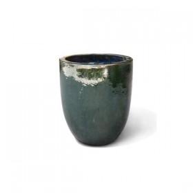 Terracotta VASI Baku green set 3 pz. 214977