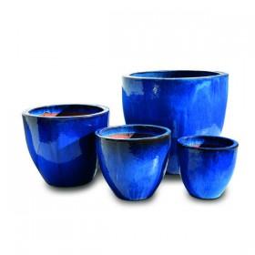 Terracotta VASI Budapest blue set 4 pz. 214480