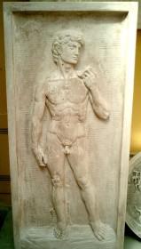 Decorazioni GIARDINO David rilievo BM123