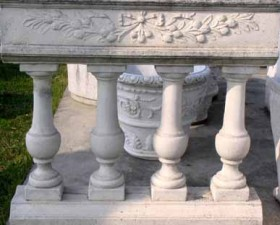 Cemento BALAUSTRE Fioriera Meana BM127
