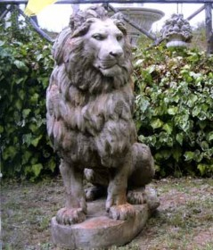 leone-gigante-cemento-anticato-bm225