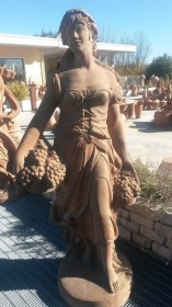 Decorazione GIARDINO Statua Autunno TARST507036