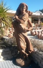 Terracotta Statua Inverno TARST507037